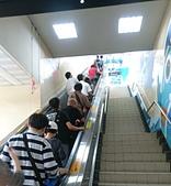 [新北市汐止區]汐止火車站:前往月台的手扶電梯