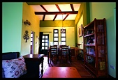 相遇在鹿野森活B&B之綠草:房內的柱子、牆面,都是採用Nippon環保漆~綠精靈