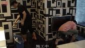 50-大理石防滑止滑-台中汽車旅館-黑白相間大理石浴室地面止滑施工:12施工中.jpg