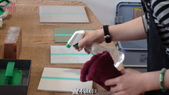 防滑止滑-中苑企業&黃茂竹教育訓練-止滑防滑浴室防滑:21防滑-磁磚-實作中-止滑防滑浴室防滑