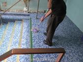台中市汽車旅館馬賽克磁磚游泳池止滑施工:18用好神拖將止滑劑清除後完工-止滑大師-止滑劑防滑劑止滑防滑施工