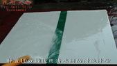 拋光石英磁磚防滑止滑施工方法以及施工後之防滑效果及外觀-佶川科技止滑大師Pro Anti-Slip :13靜置10分鐘後用清水將防滑液沖除-防滑止滑浴室防滑