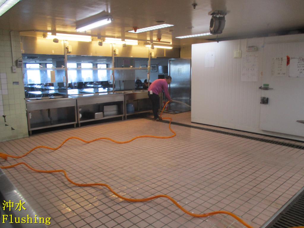 1451 Bank-Employee Restaurant-Quartz Brick Floor A:1451 銀行-員工餐廳-石英磚地面止滑防滑施工工程 - 相片 (19).JPG