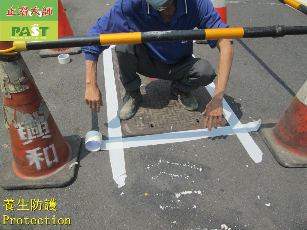 1808 School-Road-Iron Ditch Cover Ceramic Anti-ski:1808 School-Road-Iron Ditch Cover Ceramic Anti-skid Paint Spraying Construction Project - Photo (21).JPG