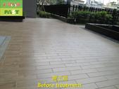 1197 Community-Courtyard-Wood Brick Floor Anti-Sli:1197 Community-Courtyard-Wood Brick Floor Anti-Slip Treatment (7).JPG