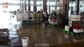 哈魚碼頭噴水池磁磚地面殘膠清除止滑施工-魚池青苔清除-木板走道污垢清除-魚市拍賣區地面污垢清除:15魚市拍賣區-止滑大師-止滑劑防滑劑止滑防滑施工