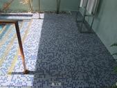 台中市汽車旅館馬賽克磁磚游泳池止滑施工:9施工前 -止滑大師-止滑劑防滑劑止滑防滑施工