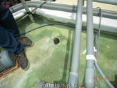 抓漏防水工程素材:15頂樓排水孔2.-止滑大師Anti- slit Pro創業加盟連鎖止滑液防滑劑止滑防滑專業施工地坪瓷磚浴室防滑止滑