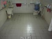 防滑-罄園老人養護中心地面止滑防滑施工-防滑止滑浴室防滑:3止滑-施工前1-防滑止滑浴室防滑
