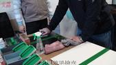 20120220中苑企業(有)&黃茂竹加盟店教育訓練:38實作後測試止滑度-止滑大師創Anit-slip Pro業加盟連鎖止滑液防滑劑止滑防滑專業施工地坪磁磚浴室防滑止滑