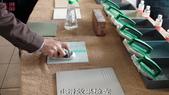 20120220中苑企業(有)&黃茂竹加盟店教育訓練:39實作後測試止滑度-止滑大師創Anit-slip Pro業加盟連鎖止滑液防滑劑止滑防滑專業施工地坪磁磚浴室防滑止滑