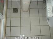 家庭浴室及各場所-地面止滑防滑去污施工:1施工前-止滑大師Anti- slit Pro創業加盟連鎖止滑液防滑劑止滑防滑專業施工地坪瓷磚浴室防滑止滑