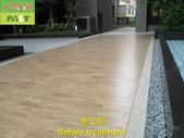 1197 Community-Courtyard-Wood Brick Floor Anti-Sli:1197 Community-Courtyard-Wood Brick Floor Anti-Slip Treatment (5).JPG