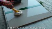 拋光石英磁磚防滑止滑施工方法以及施工後之防滑效果及外觀-佶川科技止滑大師Pro Anti-Slip :10塗抹拋光石英磁磚4號防滑液-防滑止滑浴室防滑