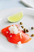 布查花園餐廳 - 舞聚後餐會:布查花園餐廳 - 煙燻挪威鮭魚 07.jpg