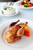 布查花園餐廳 - 舞聚後餐會:布查花園餐廳 - 香烤法國小春雞 11.jpg