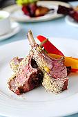 布查花園餐廳 - 舞聚後餐會:布查花園餐廳 - 羔羊排 11.jpg
