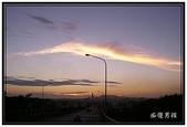 小港旅遊:大坪頂拍攝日落 - 路橋上拍日落