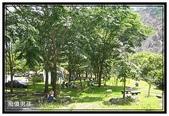 高雄縣旅遊:少年溪風景區 - 吊橋旁綠地