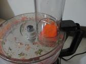 飛利浦 廚神料理機 HR7629 廚神機:紅蘿蔔如果偏硬就會像這樣很難刨,還剩一大塊