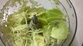 飛利浦 廚神料理機 HR7629 廚神機:刨芭樂絲跟芭樂片,最後會留下像右邊三片表皮