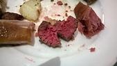 台中 饗食天堂 平日午餐:骰子牛,泡湯汁比較久的會比較熟
