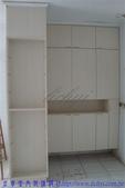 鍾公館電梯華廈舊屋翻新:玄關置物櫃裝