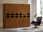 GL-589:590-3 2.6尺實木樟木色衣櫥(單吊).jpg
