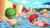 插圖.插畫.可愛風.繪畫:8游泳.jpg
