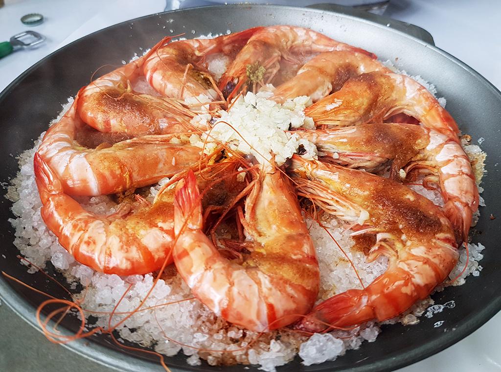 10鹽烤明蝦.jpg - 竹南漁泉海鮮料理