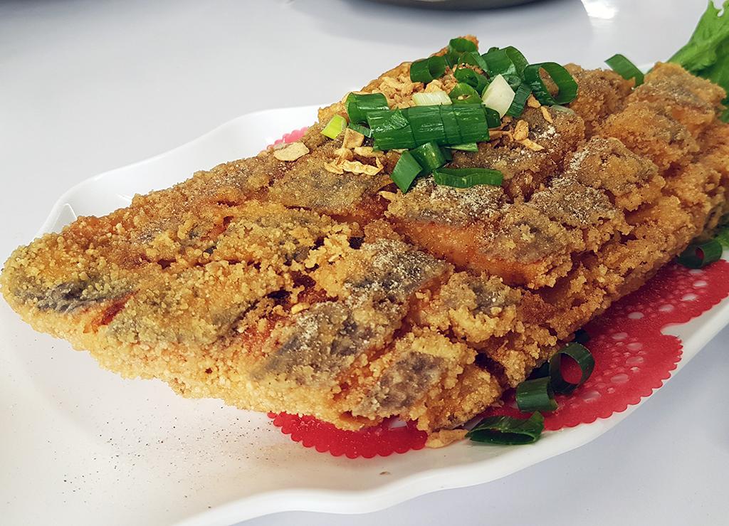 14椒鹽龍鱈.jpg - 竹南漁泉海鮮料理