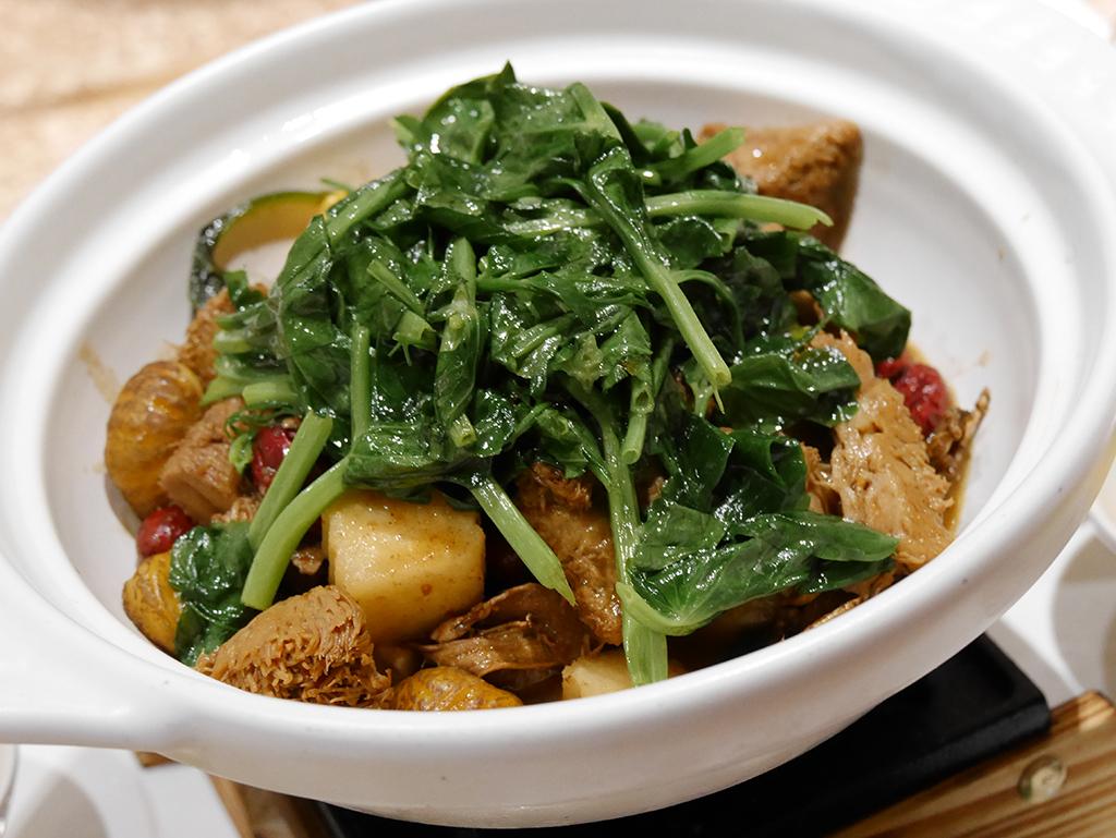 32-1三杯猴菇.jpg - 崇德發蔬食餐廳