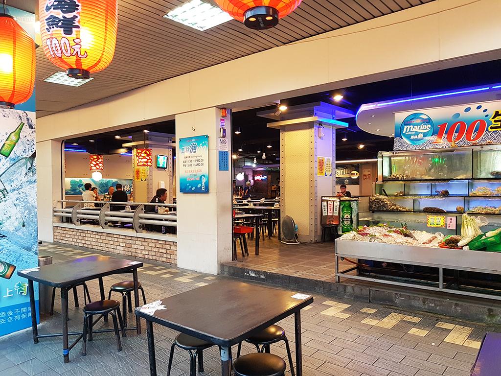 02馬林漁走廊區.jpg - 西門町馬林漁生猛海鮮100專賣店