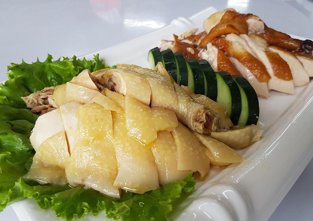 竹南漁泉海鮮料理:04燻雞土雞.jpg