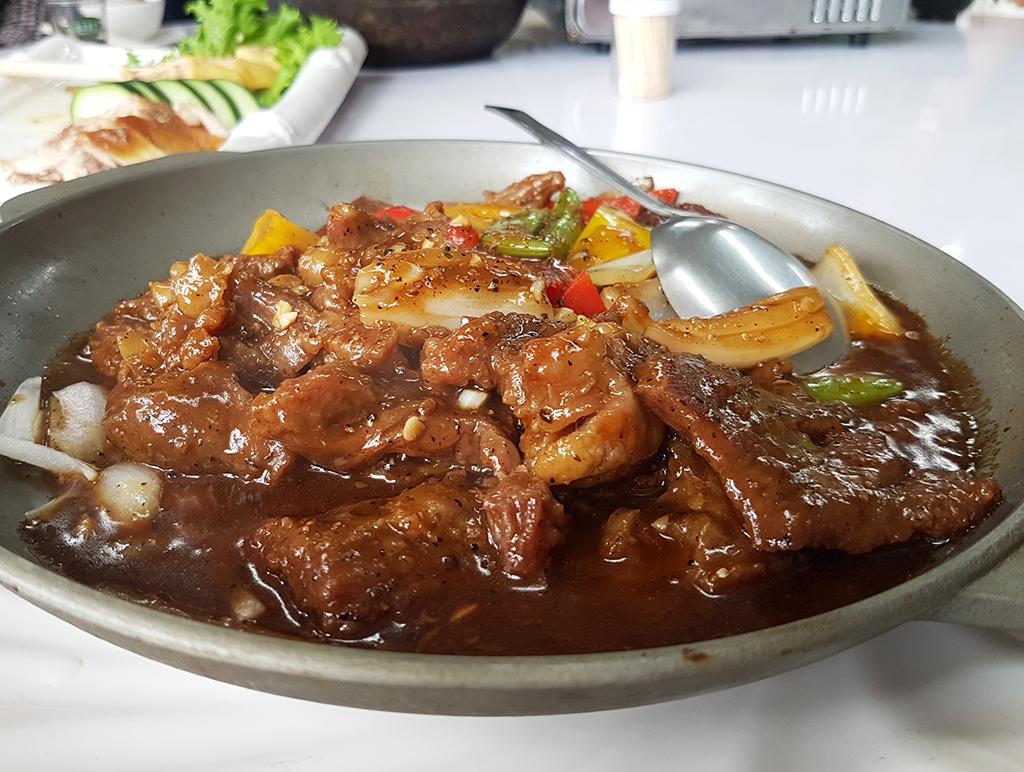 07黑胡椒牛小排.jpg - 竹南漁泉海鮮料理