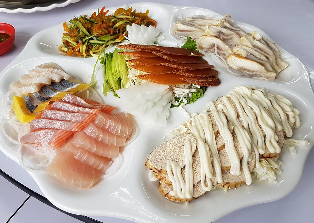 09海鮮拼盤.jpg - 竹南漁泉海鮮料理