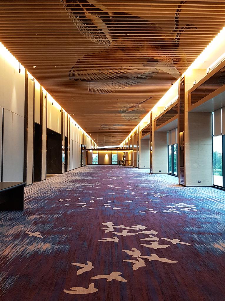 宴會廳走廊裝飾 - 台南大員皇冠假日酒店