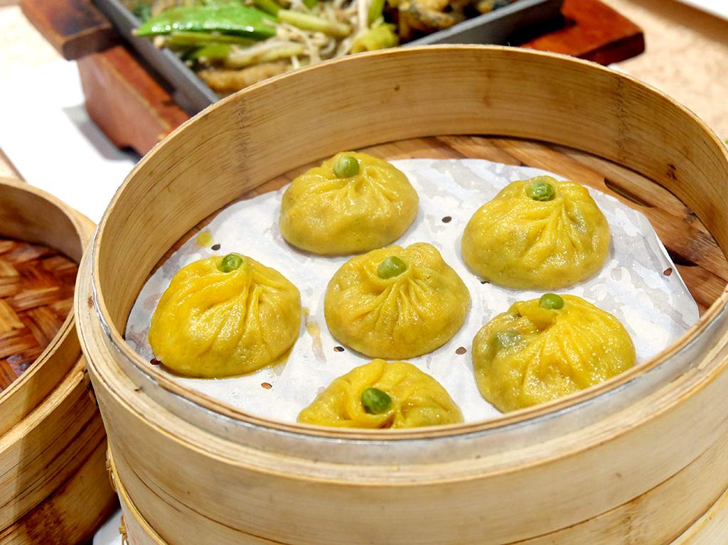 33冬菇南瓜餃.jpg - 崇德發蔬食餐廳