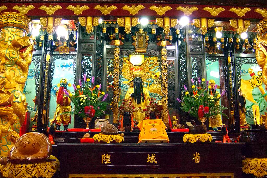 06正殿主龕文武判.jpg - 台灣省城隍廟