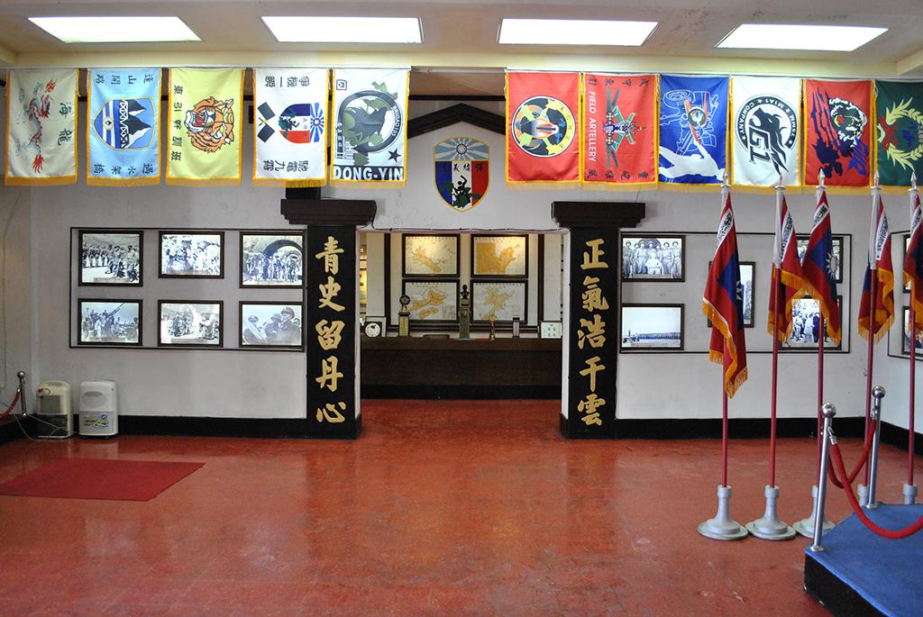 06大廳左側.jpg - 馬祖東引指揮部隊史館