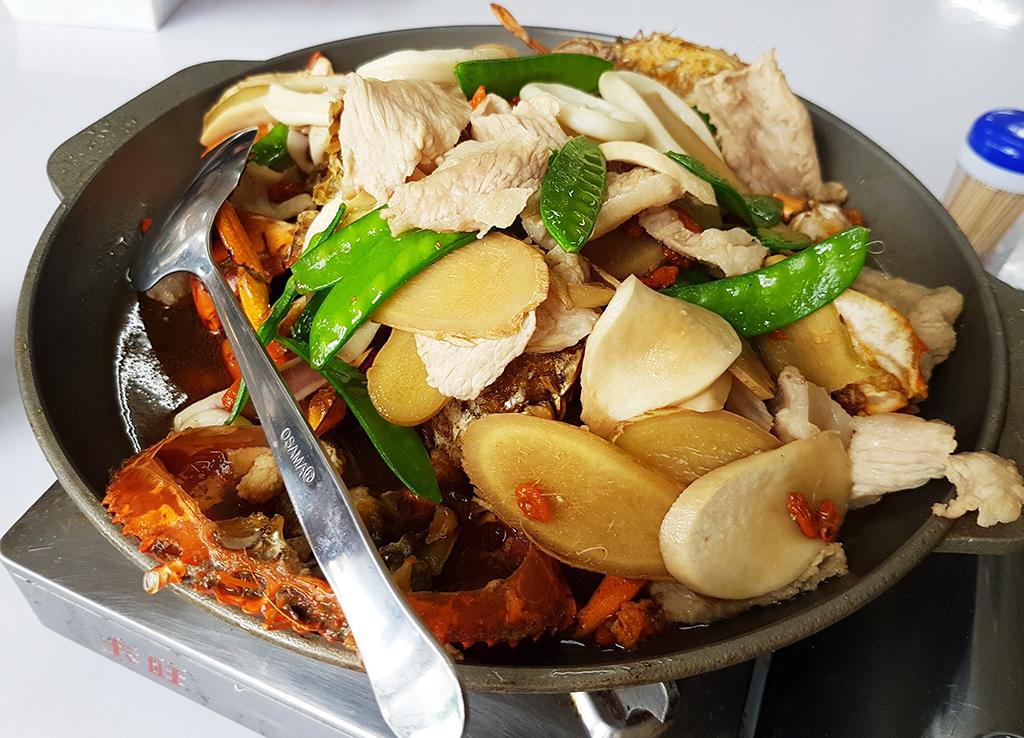 竹南漁泉海鮮料理:06麻油螃蟹.jpg