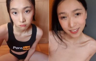 「中國交換學生」21歲女正妹自拍上傳Pornhub!網友:中國出人才!