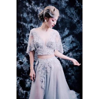 「婚紗攝影」最美新娘藍藍 Elena,網友:太優了