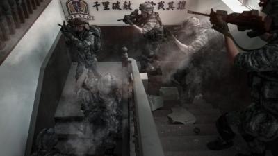 「不齒台獨」陸生製武統照片,台網民:意淫世界第一民族