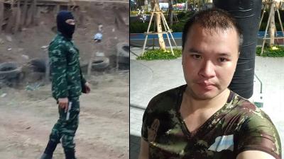 「泰國槍擊案」拿槍進百貨公司射殺