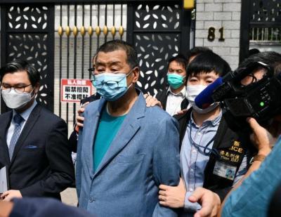 「黎智英被捕」民進黨籲港府勿與民為敵?香港會再度爆發?