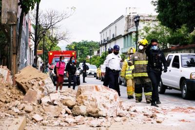 「墨西哥地震」救命關鍵62秒!4死地面驚人反覆開合