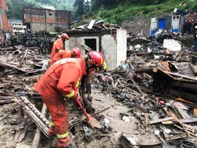 「利奇馬襲陸」10分鐘撤百萬人,溪水暴漲3層樓釀22死