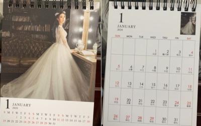 「藍羽淇婚紗月曆」2020年12個月不同照片入鏡,最後貼心舉動讓人感動