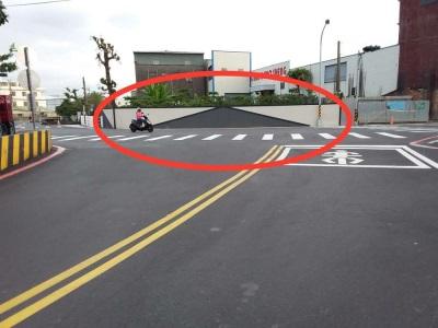 「牆上有路」台中豐原這條路況會讓人一騎往前衝